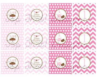 Milk and Cookies Toppers/Party Circles- Printable