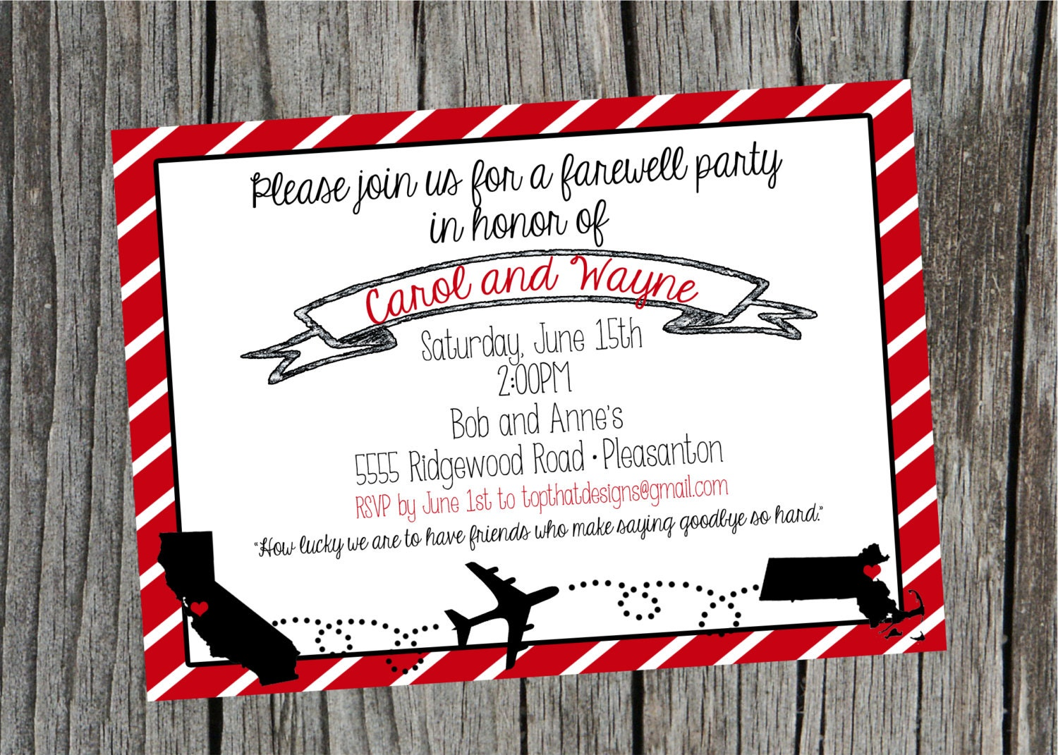 College Going Away Party Invitation Wording is perfect invitation sample