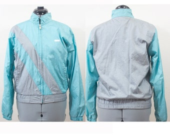 SALE Vintage Retro Mint and Grey Jacket