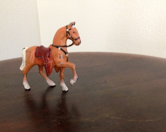 Small painted Metal Toy horse pony