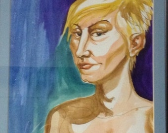 Portraits, Nudes, and Burlesque Figures in Watercolor, Custom Made