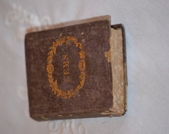 Antique Poetry Book