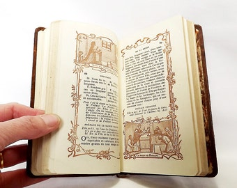 Leatherbound, missal from France - missel de l'Eucharistie