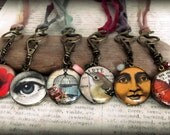 Locket Assortment, Small, Wholesale, set of 6, Vegan Friendly