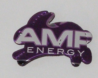 BUNNY Magnet - Purple AMP Energy Drink Soda Can