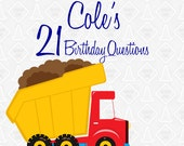 Birthday Book- Yearly questions/ interview to document your kids at every age. Photo book. Free Shipping.