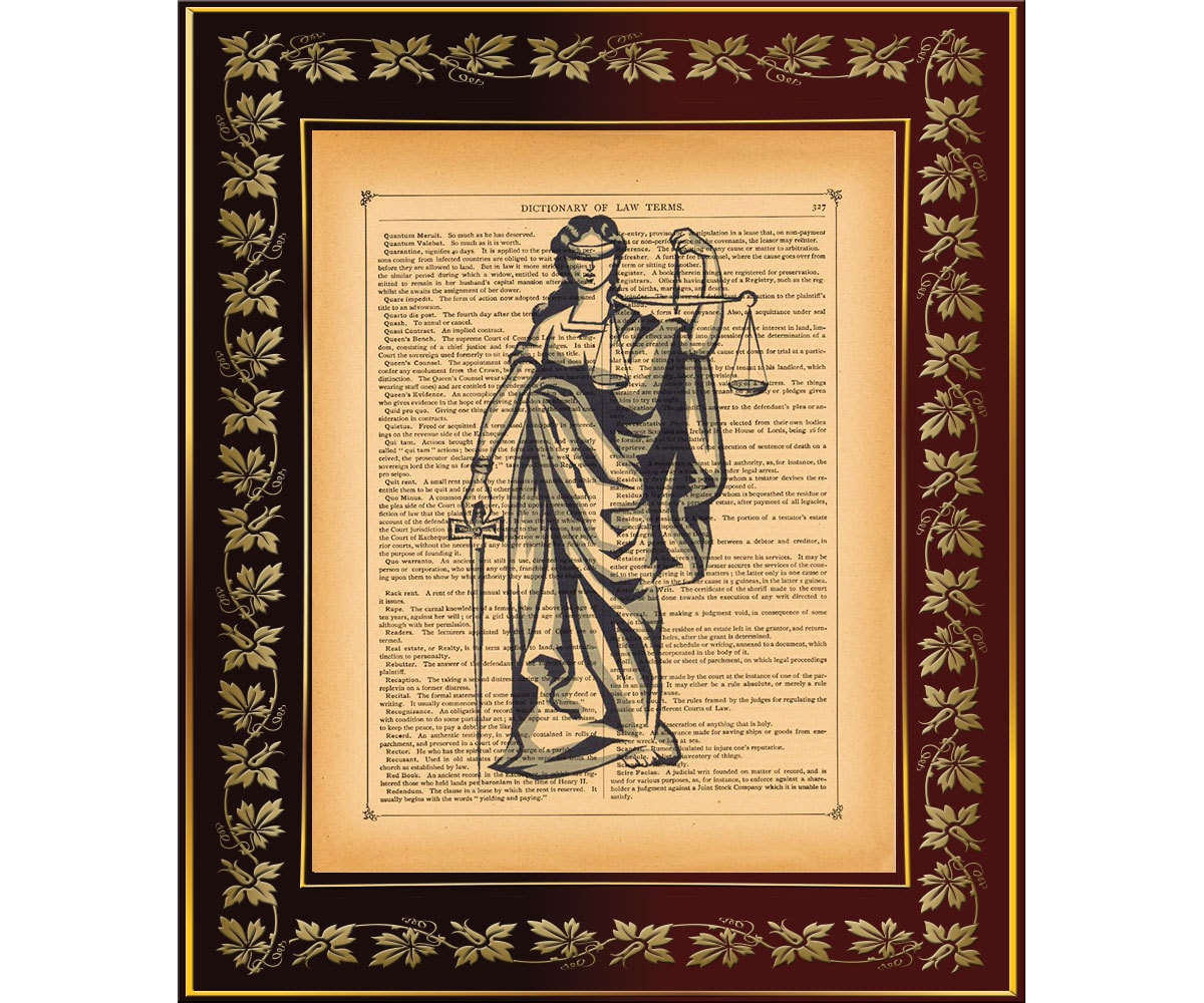 lady justice wall art - photo #2