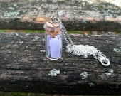 Customizable Message In a Bottle Necklace
