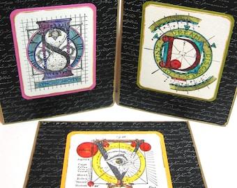 Synchronicity, Vision, Dream Handmade Cards, Set of 3