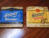 Shiner Bock and Blonde Natural Stone Coasters