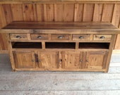 Reclaimed Chestnut TV Console - Ready To Ship