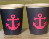 Anchor Paper Party Cups - Choose from 72 colors - Set of 12