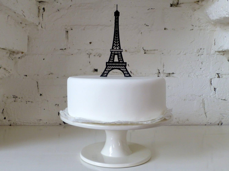 Eiffel Tower Cake Topper Michaels