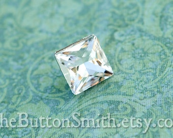 Rhinestone Buttons -Caroline- (16mm) RS-019 - 5 piece set