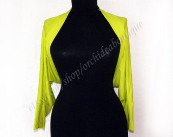 Bolero with long sleeves
