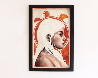Game of Thrones - Daenerys Targaryen print