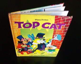 Vintage Children's Book - Top Cat - 1963