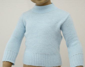 sweet soft 70s sweater for a little baby.