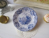 Blue River Country Plate for Dollhouse