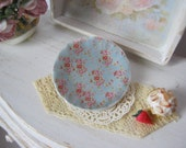 Vintage Chic Dollhouse Plate