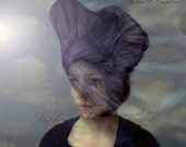 Fine Art Photography, Surreal Portrait, ''The endless search'' Metallic Print, Veils, Portrait, Old masters, Surreal, Realistic