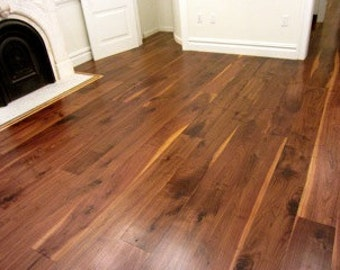 Mary Kate McDevitt On Etsy - Black walnut hardwood flooring