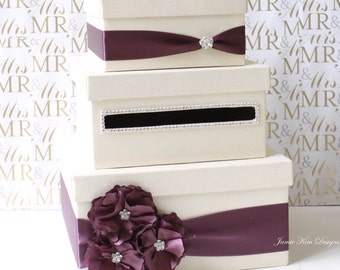 Wedding Card Box, Money Box, Gift Card Holder - Custom Made to Order