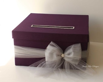 Wedding Card Box, Money Card Holder, Wising Well, Custom Card Box