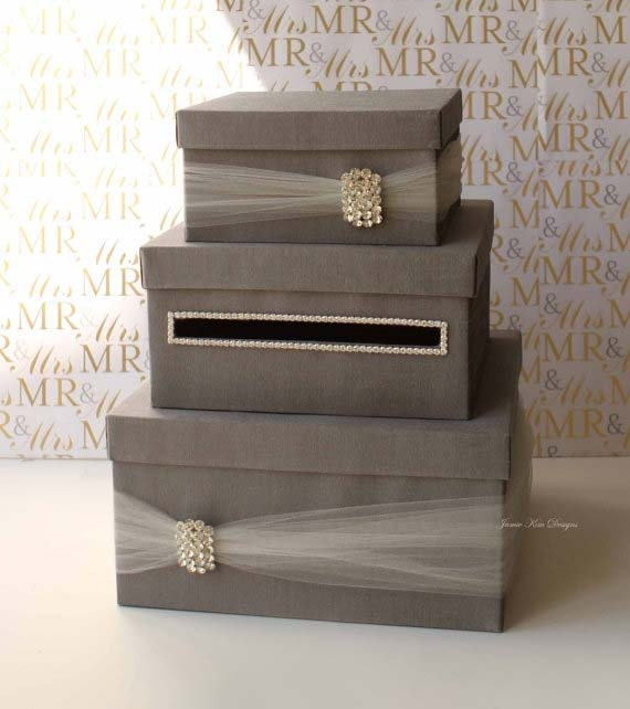 Wedding Gifts Boxes: Wedding Card Box Money Box Wedding Gift Card Money Box