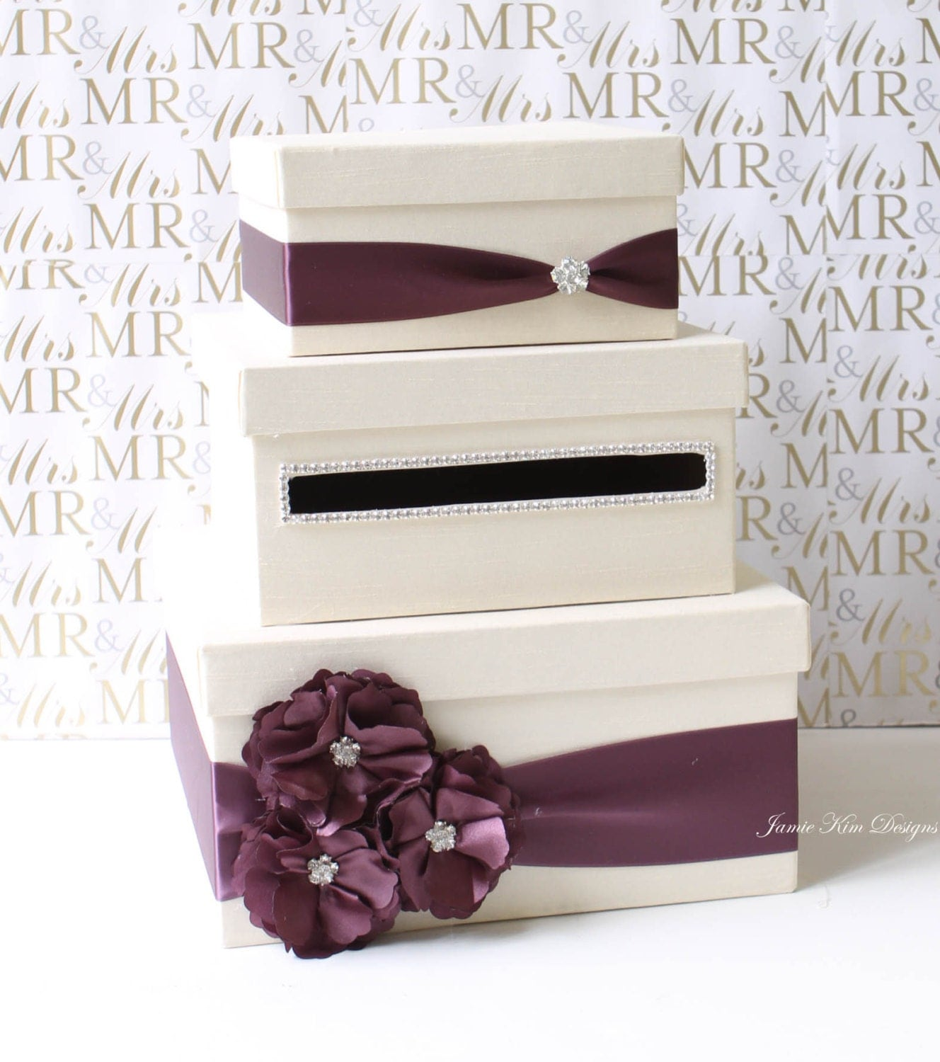 Wedding Gift Box Etsy : Wedding Card Box Money Box Gift Card Holder Custom Made to