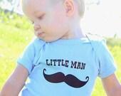 Mustache Little Man Baby One-Piece Infant Bodysuit baby gift under 20