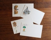 Vintage Antique Post Cards (set of 40)