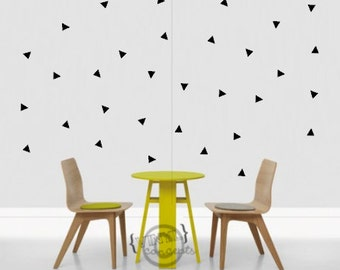 30 Triangles - Vinyl Wall Art