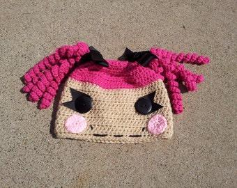 Crochet Lalaloopsy Hat Pattern