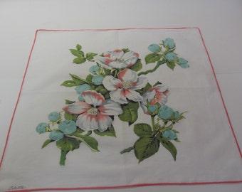Signed Colette Handkerchief, Wild Rose
