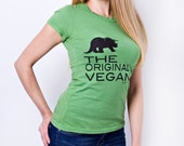 The Original Vegan Tee by Rare Tee - Activism - Organic Cotton