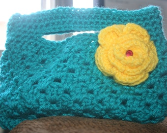 Crocheted Boutique Purse