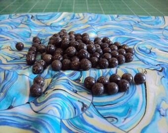 8mm Pyrite Beads