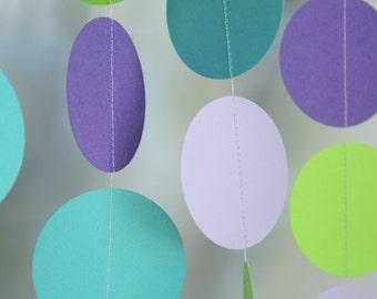 Paper  Garland - birthday parties,  baby showers, bridal showers
