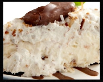 Mounds Coconut Whipped Pie Recipe~~~Instant Download~~~Back by Request