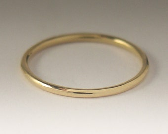 Gold Ring, Solid Yellow Gold Ring, Simple Gold Ring, Yellow Gold, 9K Yellow Gold Ring, Dainty Gold Ring, Gold Ring Women, Delicate Gold Ring