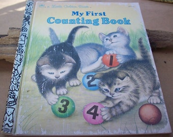 My First Counting Book  ~  1957 Little Golden Book