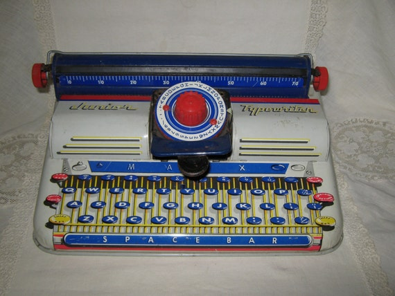 Marx Tin Toy Typewriter