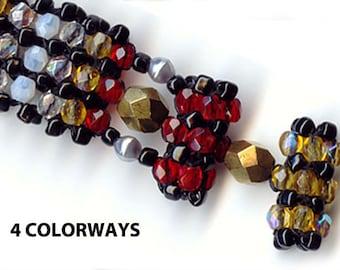 Bead Kits, Bracelet Bead Pattern, 3 Colorways