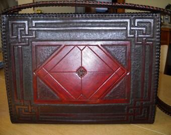 Leather Hand Tooled Custom Purses