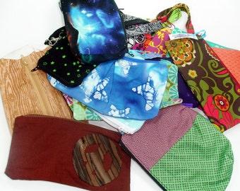 Grab bag clearance zipper pouch