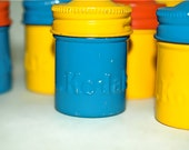 Vintage Kodak film canisters from the late 60's