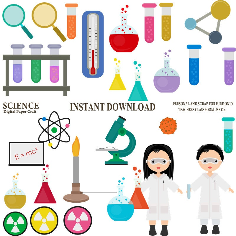 Science Clipart Chemistry Clipart School on The States Of Matter And Periodic Table