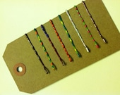 Painted Standard Bobby Pins Set of 8