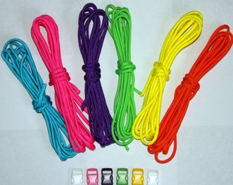 Paracord bracelet kits - Neon kit
